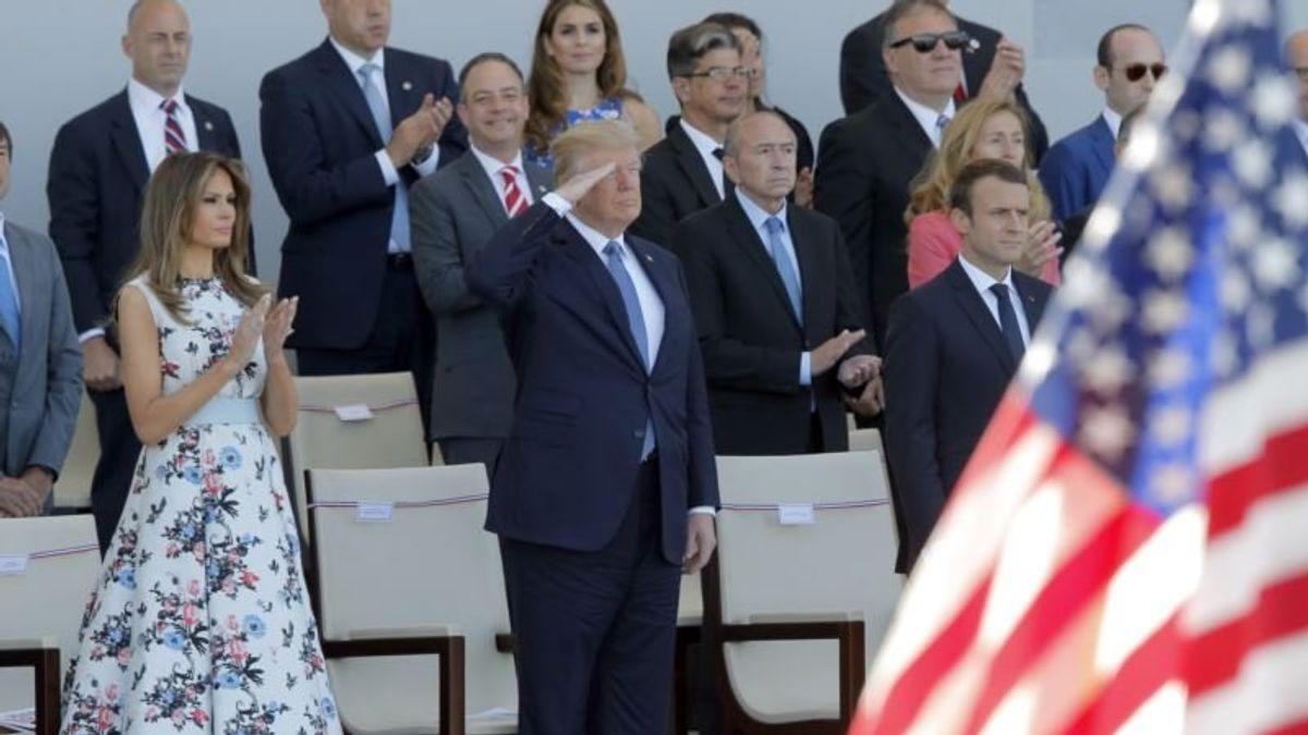 Pentagon: Trump's Military Parade Planned for November Postponed