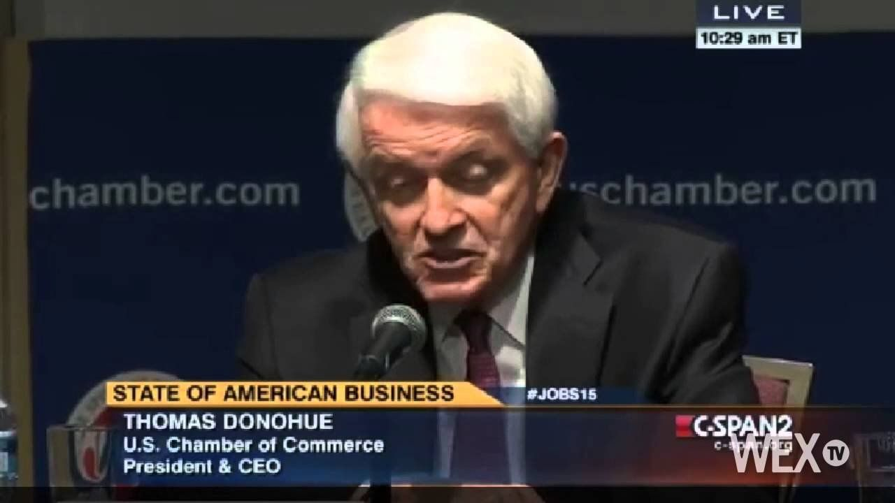 U.S. Chamber urges cooperation to improve economy in 2015