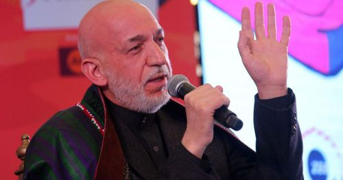 Former Afghan president says the U.S. and international community failed in his country