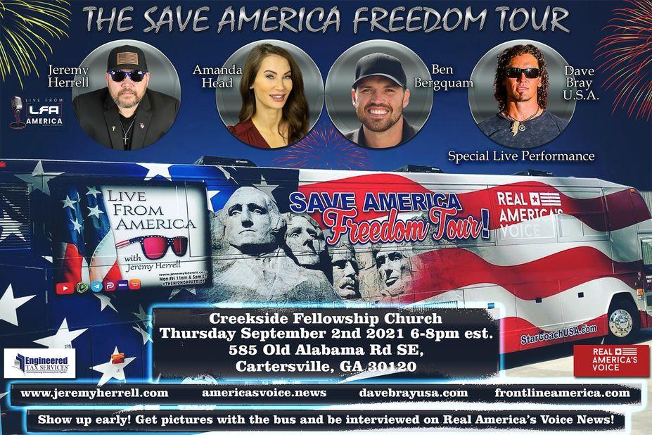 Save America Freedom Tour