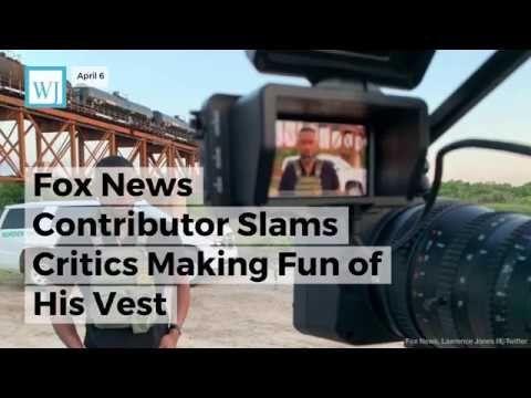 Fox News Contributor Slams Critics Making Fun of His Vest