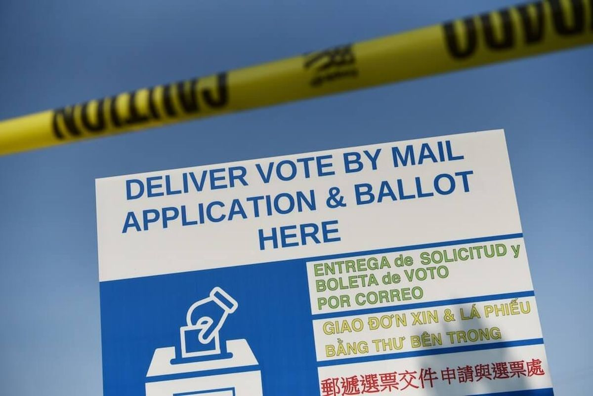 Ballot Box Restriction Stays in Place in Texas