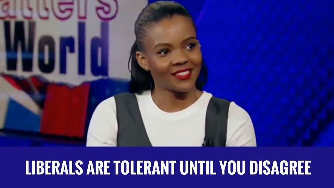 Candace Owens: Liberals Are Tolerant Until You Disagree