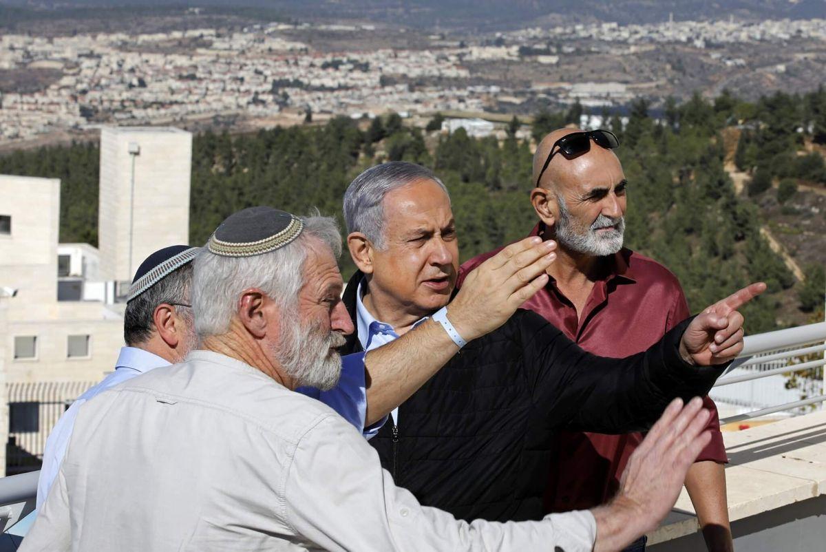 Netanyahu Celebrates US Settlement Decision in West Bank