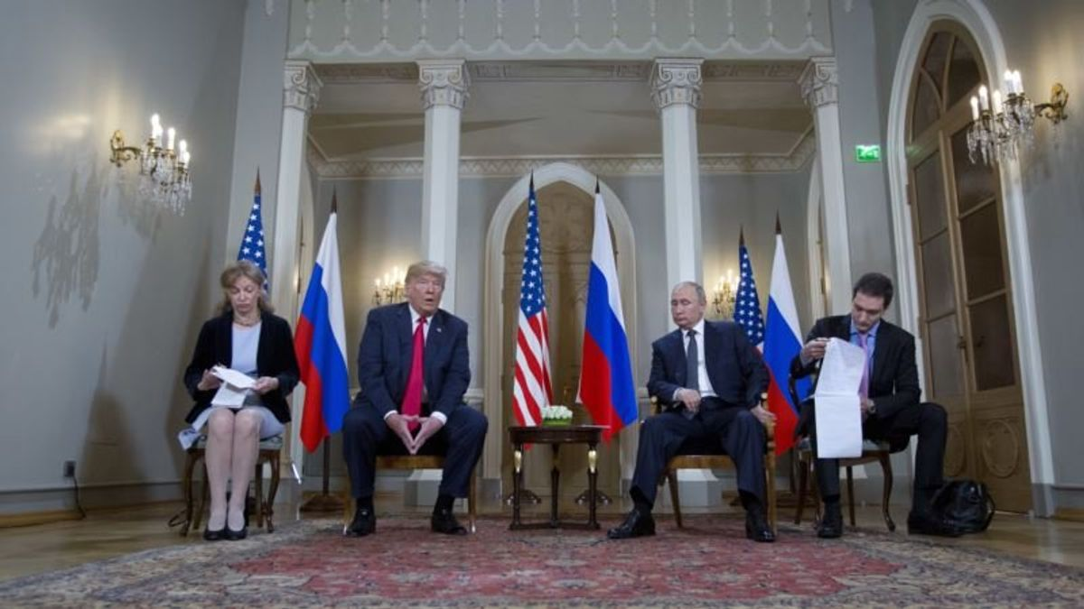 Democrats Want to Compel Interpreter to Testify About Helsinki Summit