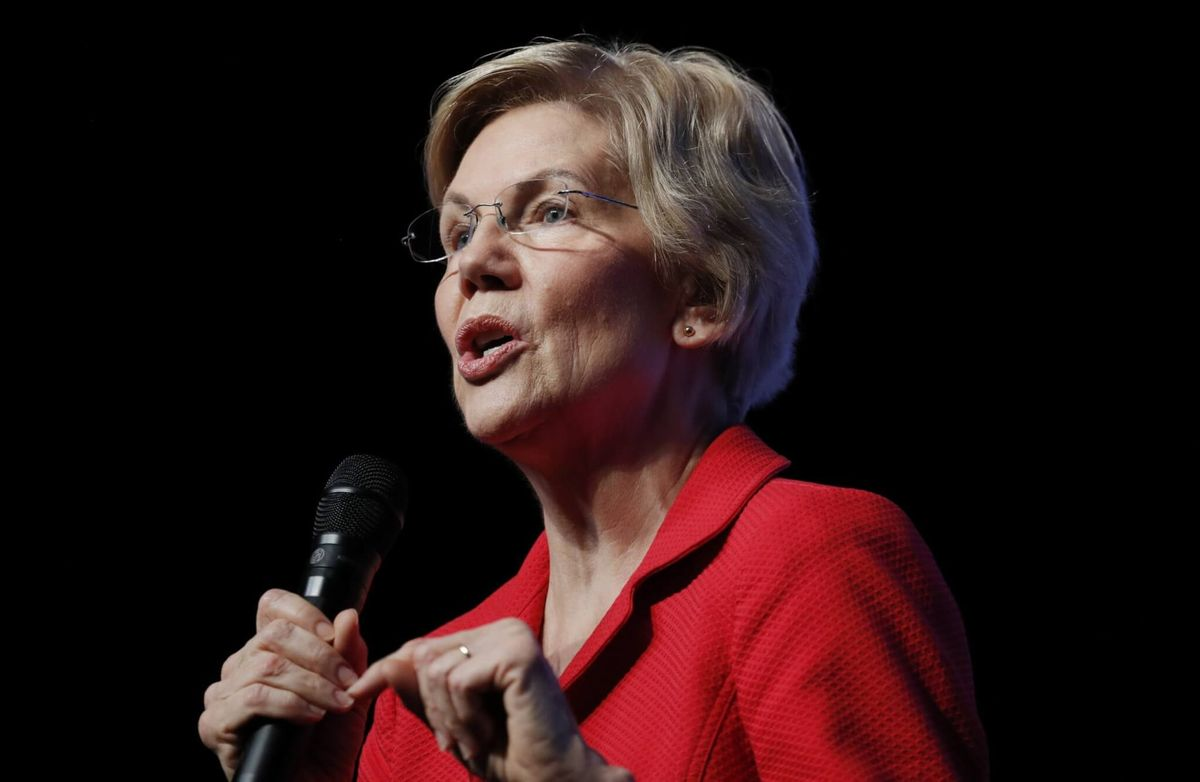 Poll: Support for Warren Drops to Lowest Since August in White House Race