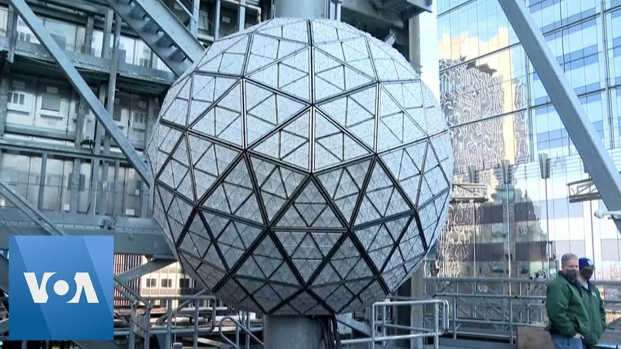 Times Square Ball Prepared for New Year's Eve