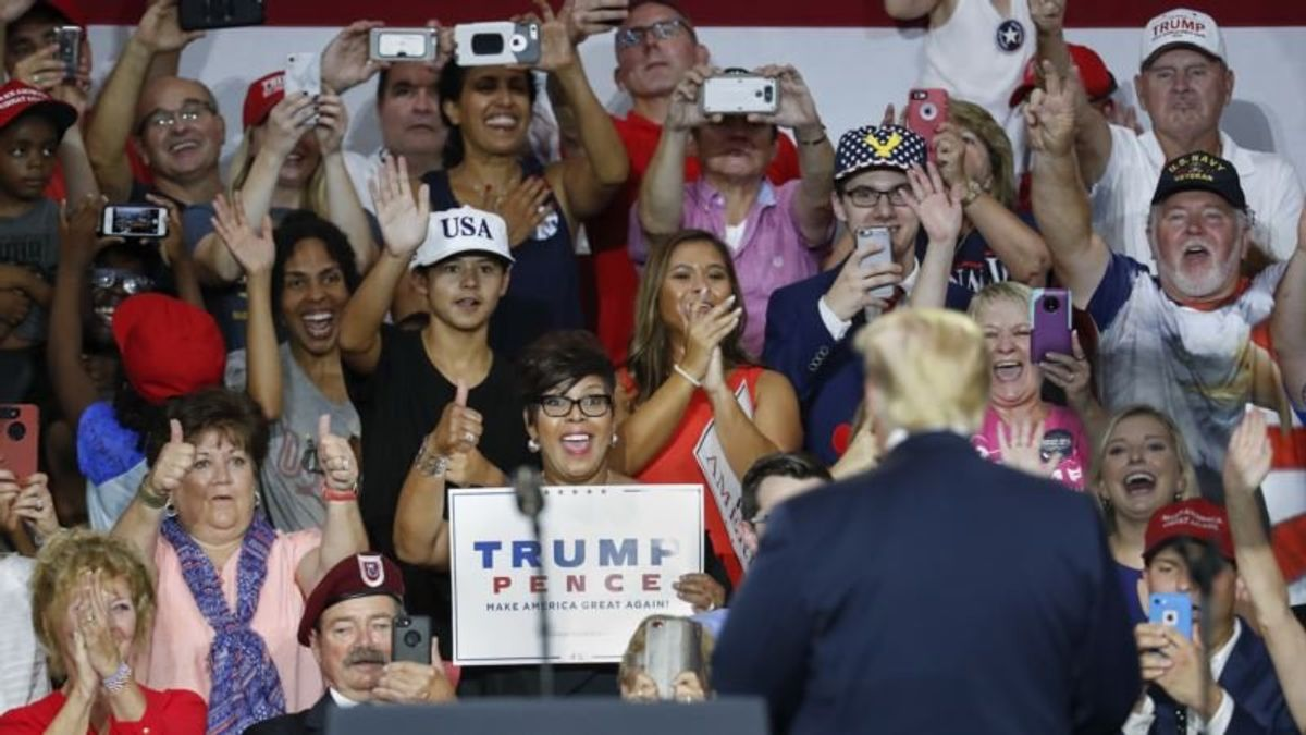 Trump Reshapes Midterms to Some GOP Concern