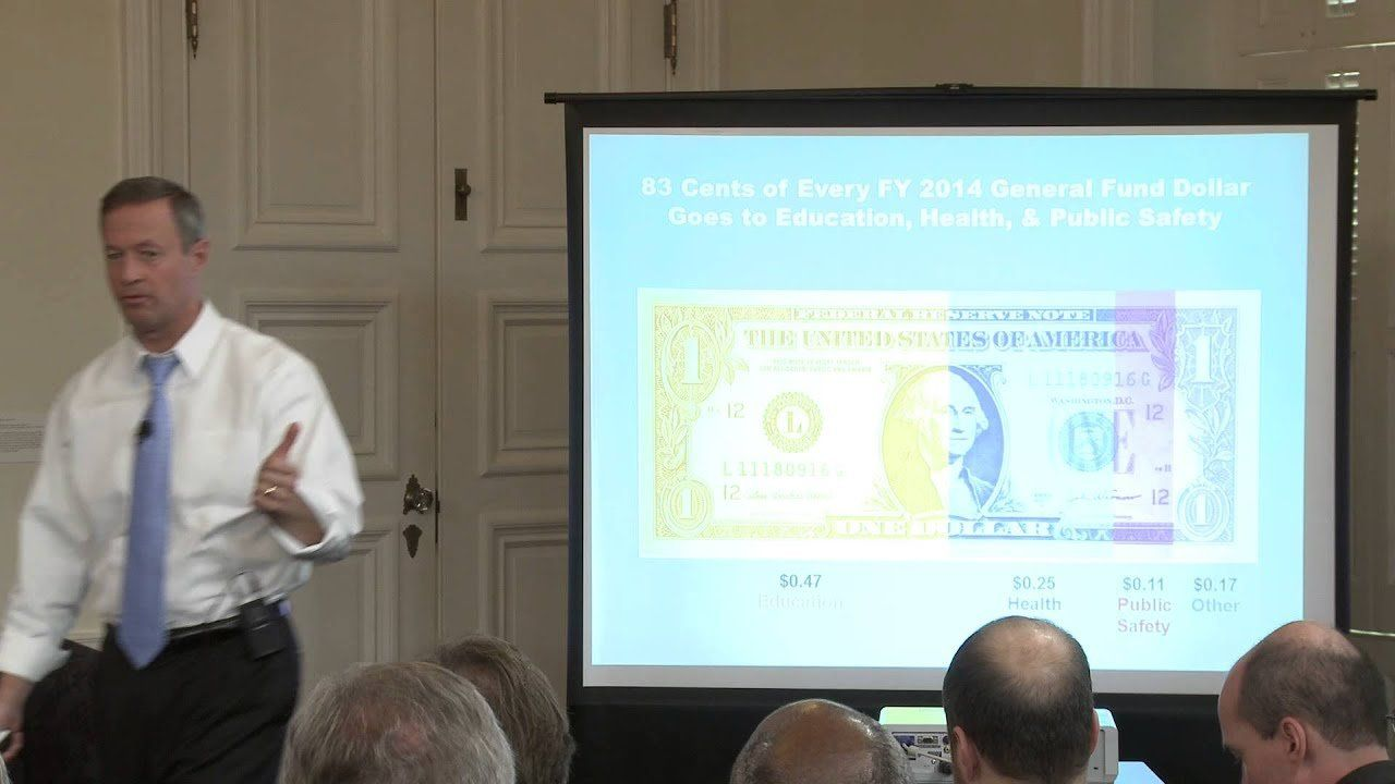 Governor Martin O'Malley Releases 2014 Budget