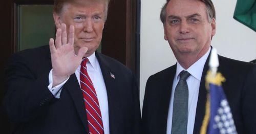Trump endorses Brazilian President Jair Bolsonaro