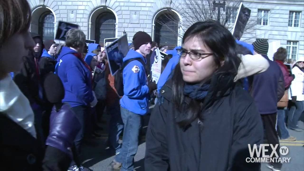 Activists gather for annual 'March for Life' event