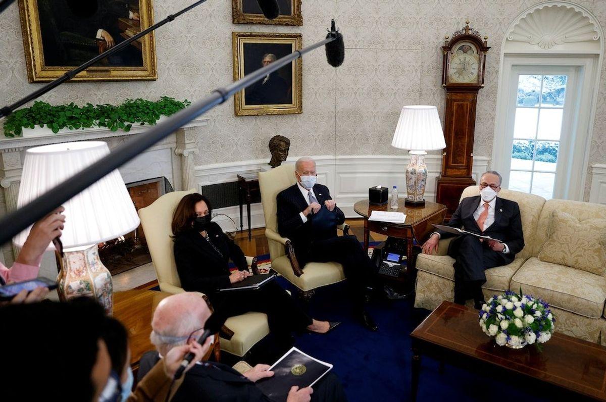 Biden Renews Commitment for $1,400 COVID Stimulus Checks