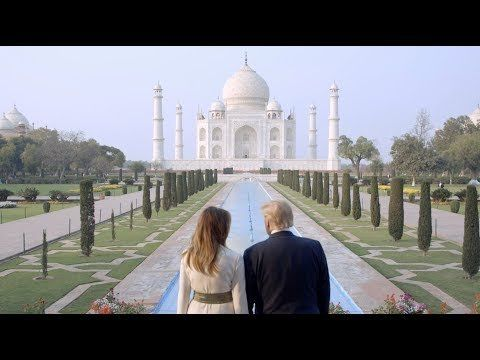 The President and First Lady Visit the Taj Mahal