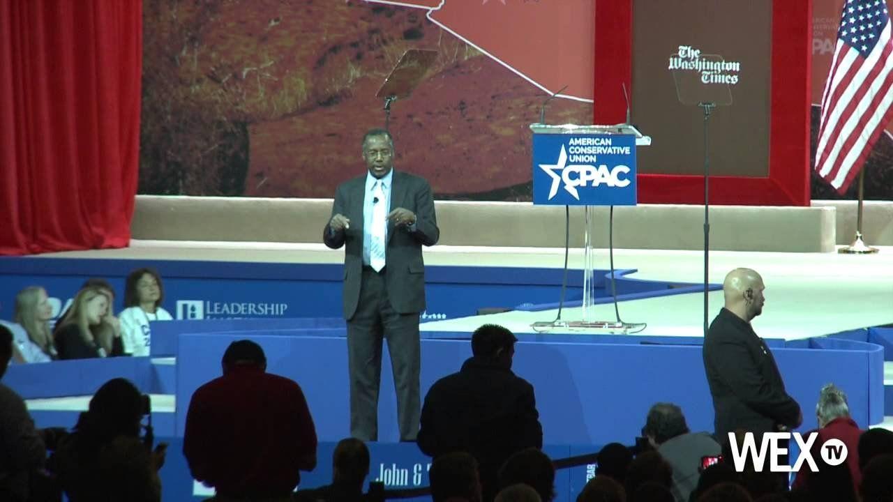 Ben Carson talks healthcare, terrorism at CPAC