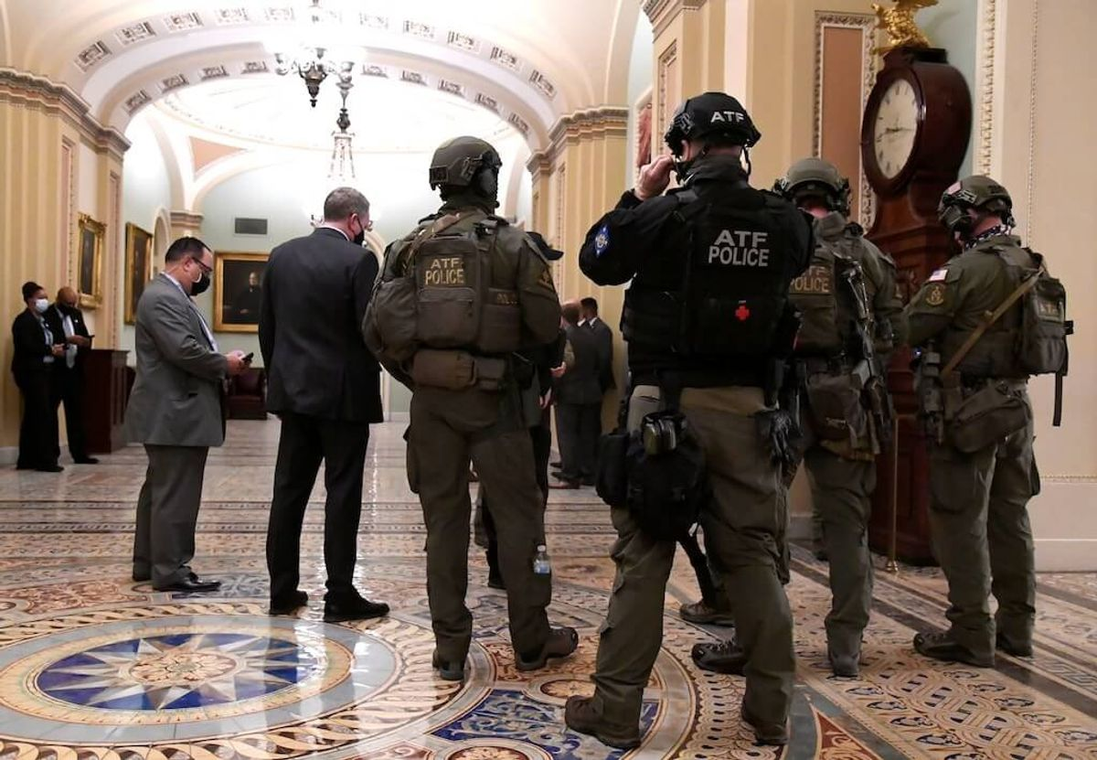 US Lawmakers Demand Investigation of Capitol Security Failures