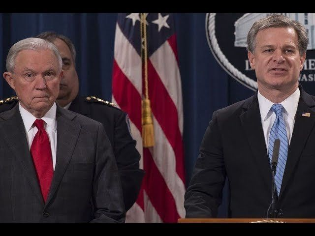 """BEST COMEDY DUO! Jeff Session & Christopher Wray in  """"Press Conference"""" [ONE NIGHT ONLY!]"""