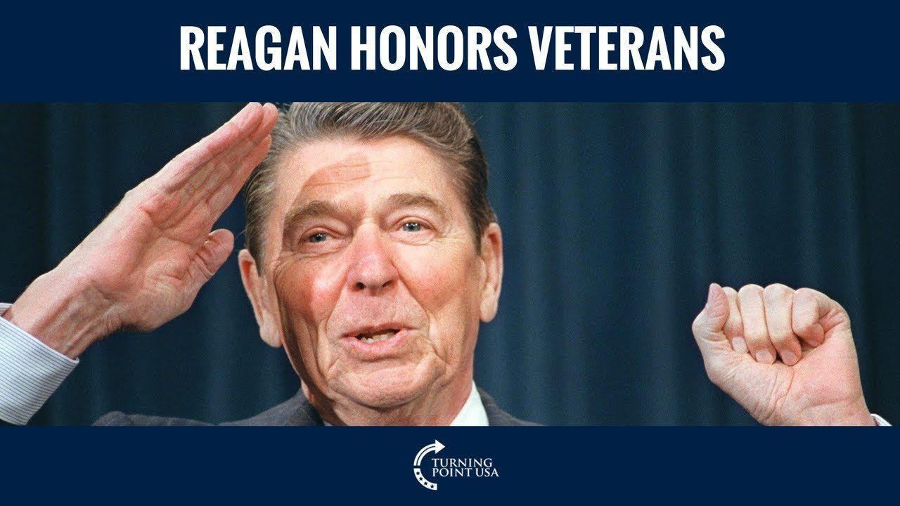 Ronald Reagan Honors Our Veterans