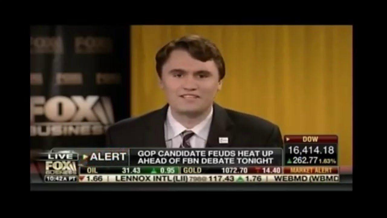 Charlie Kirk on Fox Business from GOP Debate in Charleston S.C.