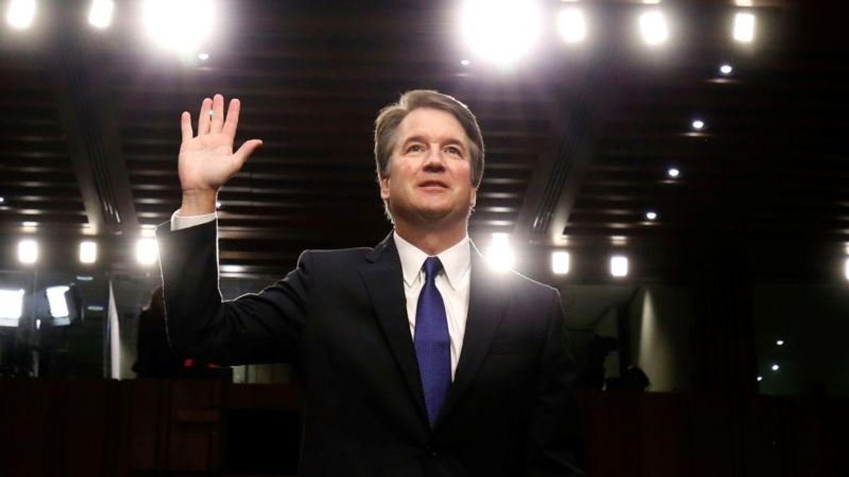 Senator Pushes Woman Accusing Kavanaugh of Assault to Testify
