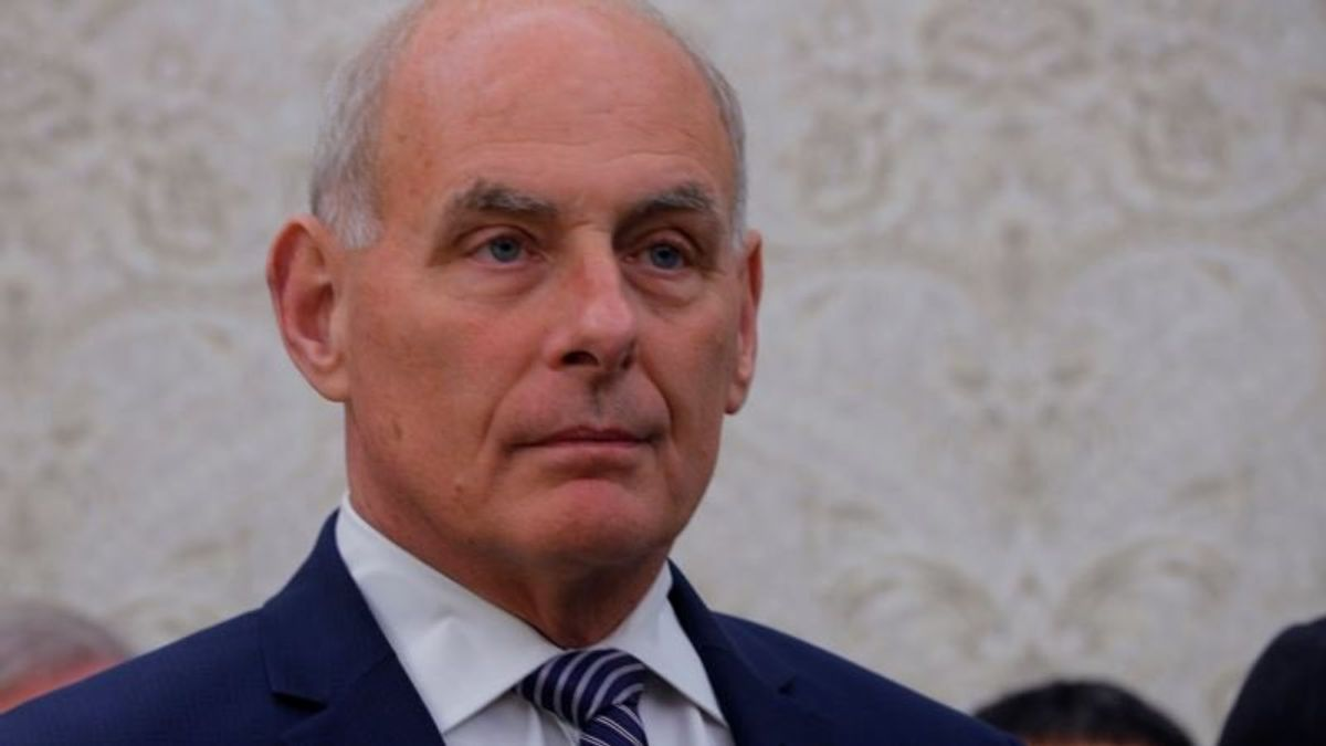 Trump Celebrates Kelly's First Full Year as Chief of Staff
