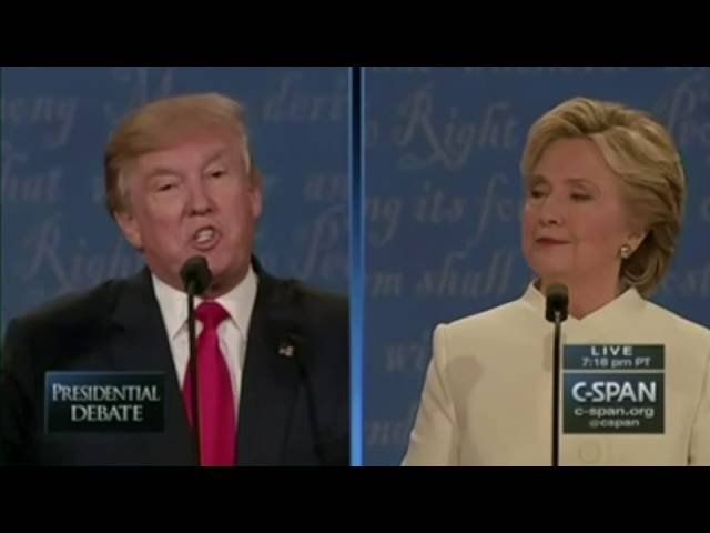 Trump vs. Hillary: Round Three Highlights!