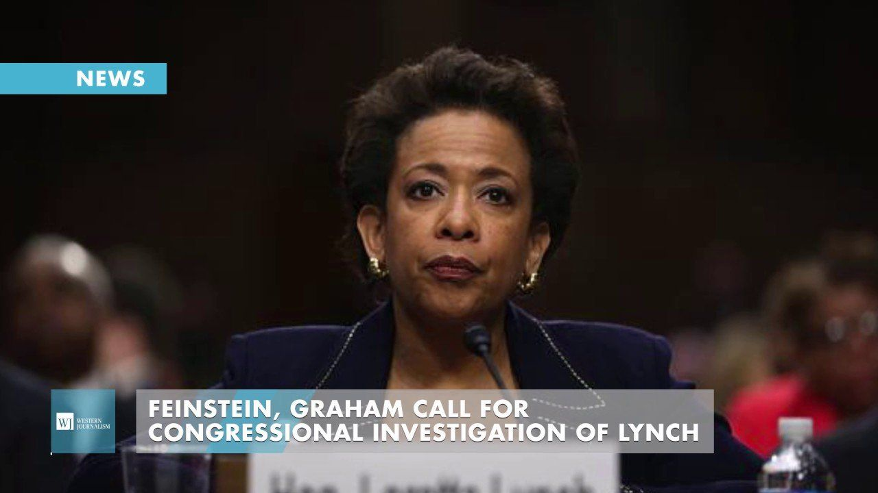 Feinstein, Graham Call For Congressional Investigation Of Lynch