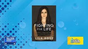 """Lila Rose's new book, """"Fighting for Life: Becoming a Force for Change in a Wounded World"""" with David"""