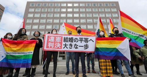 Japan court says same-sex marriage should be allowed, decision considered key step to legalization