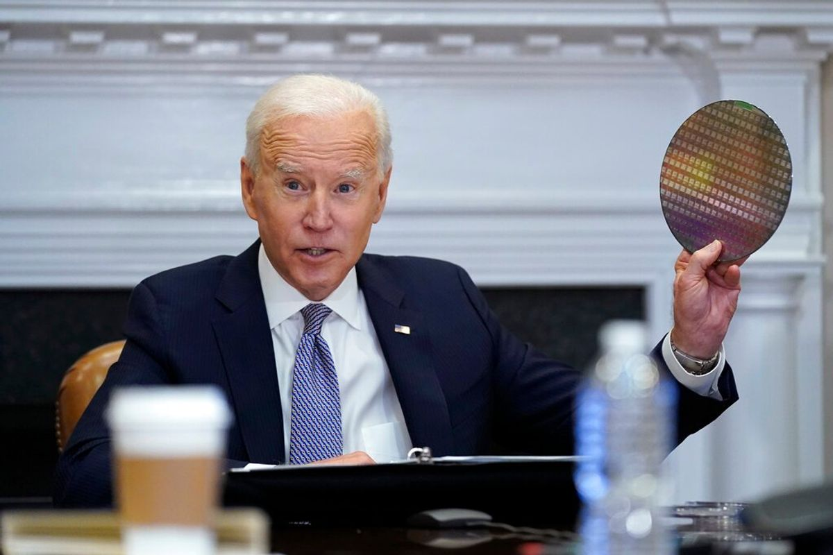 Biden Seeks Billions While the Chips Are Down