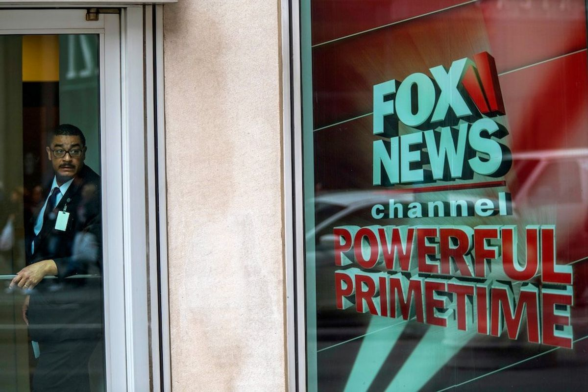 Dominion Voting Sues Fox for $1.6B Over 2020 Election Claims