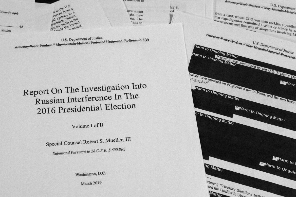 Court: House Entitled to Mueller Probe Grand Jury Testimony