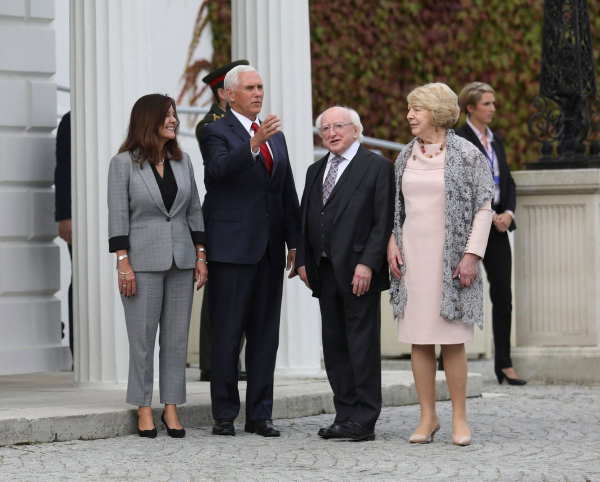 Pence Defends Decision to Stay at Trump Property in Ireland