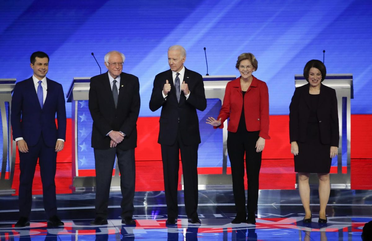 Democratic Presidential Contenders Differ on Key Policies