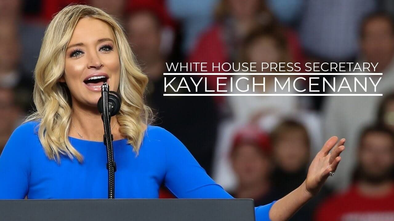 Live: Kayleigh McEnany holds White House press briefing