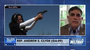 John Fredericks discussing the new gun control executive orders with Rep. Andrew S. Clyde