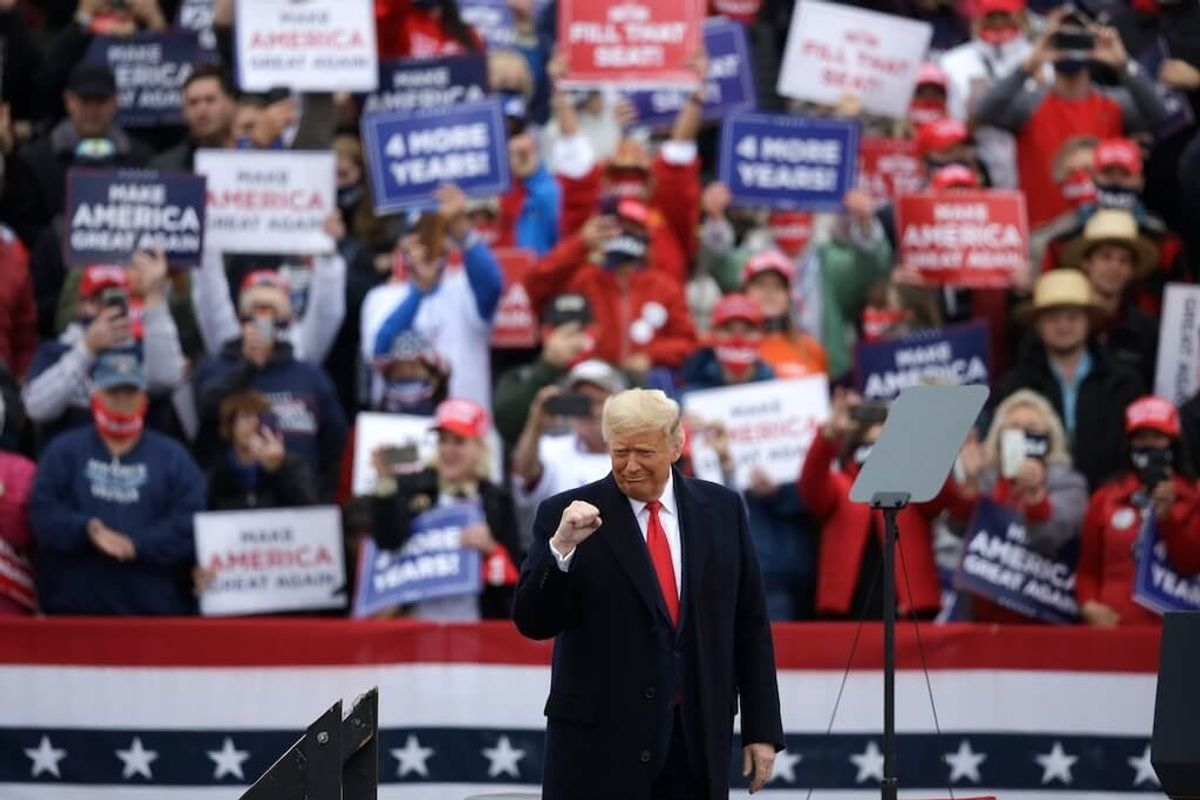 With US Election a Week Away, Trump and Biden Campaign in Contested States