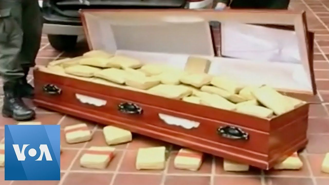 Colombian Authorities Find 300 Kilos of Marijuana in a Coffin