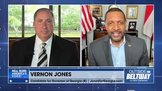 "Rep. Vernon Jones says Brian Kemp used ""Stacey law"" rather than state law."