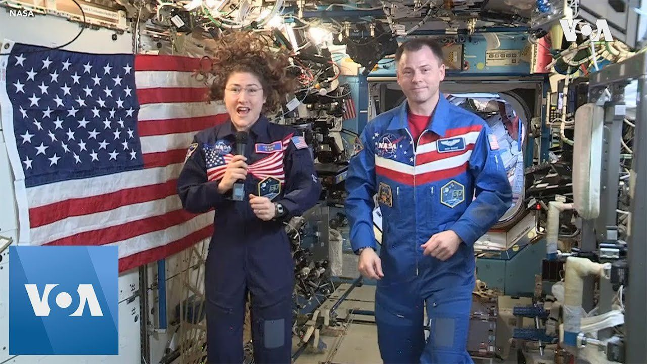 NASA Astronauts Send Independence Day Greetings from Space