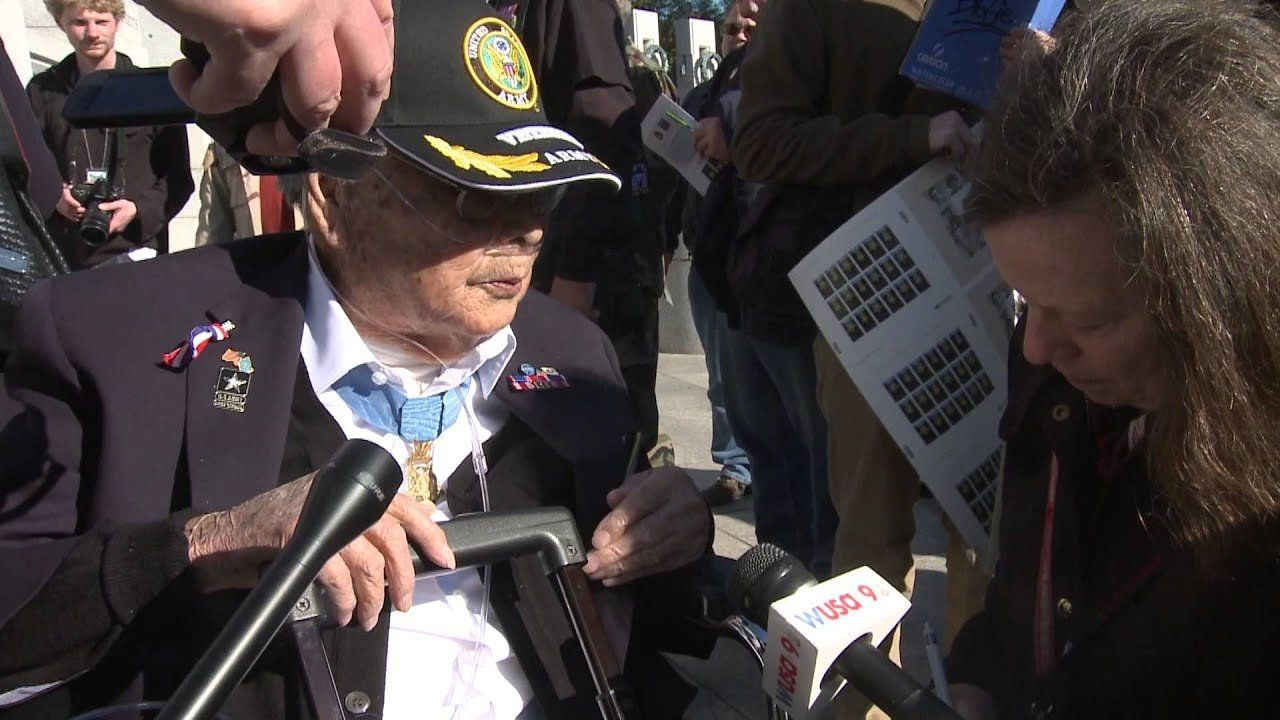 WWII Medal of Honor recipients honored on Veteran's Day