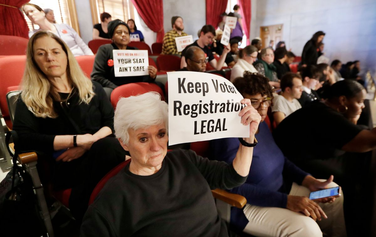 Judge: New Tennessee Voter Signup Penalties Create 'Chilling Effect'