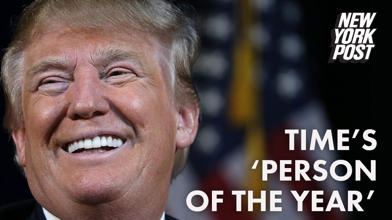 Stop freaking out that Trump is 'Person of the Year'