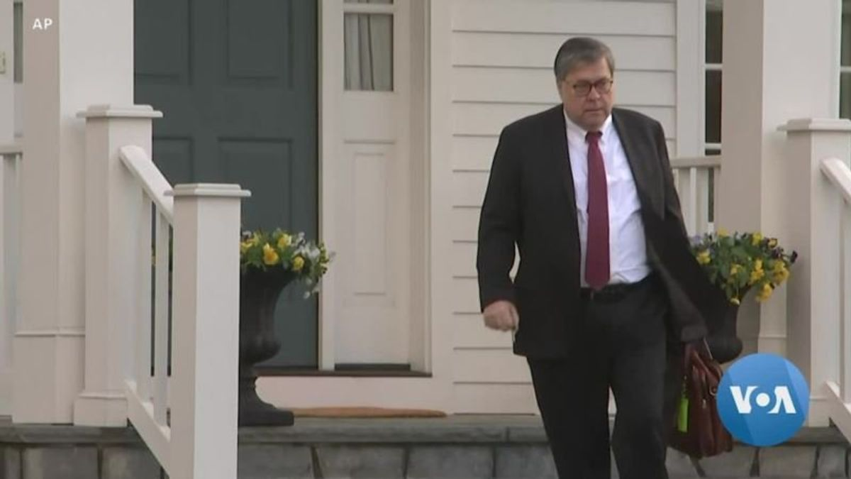 Washington Awaits Redacted Mueller Report