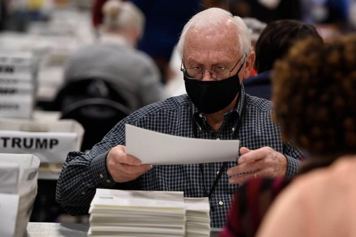 Deadline Near for Hand Tally of Presidential Race in Georgia