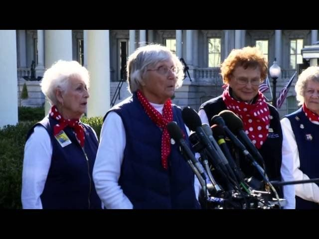 Real-life 'Rosie the Riveters' honored at White House