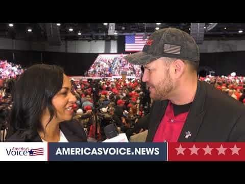 Turning Point USA interview with Anna Paulina at SAS convention