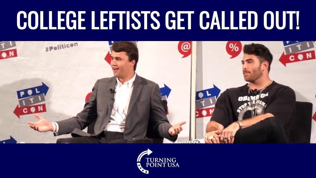 Charlie Kirk Destroys College Leftists