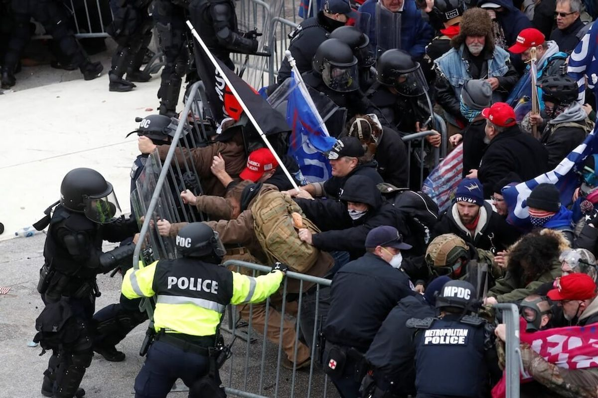 US Capitol Police Overrun by Mob After Declining Help
