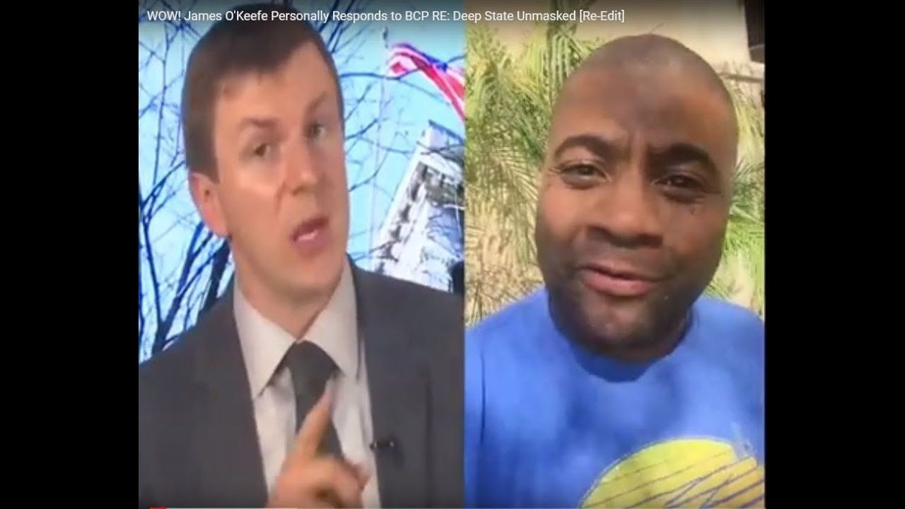 WOW! James O'Keefe Personally Responds to Black Conservative Patriot