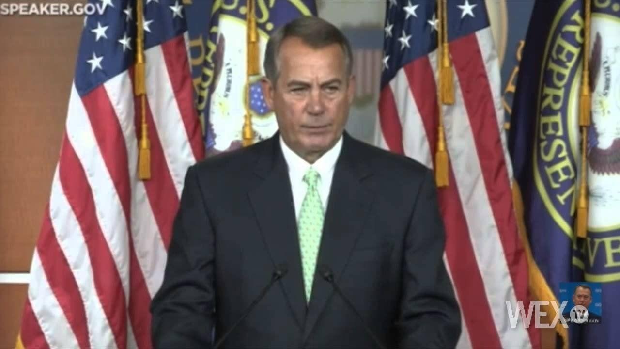 Boehner signals desire to lift spending caps